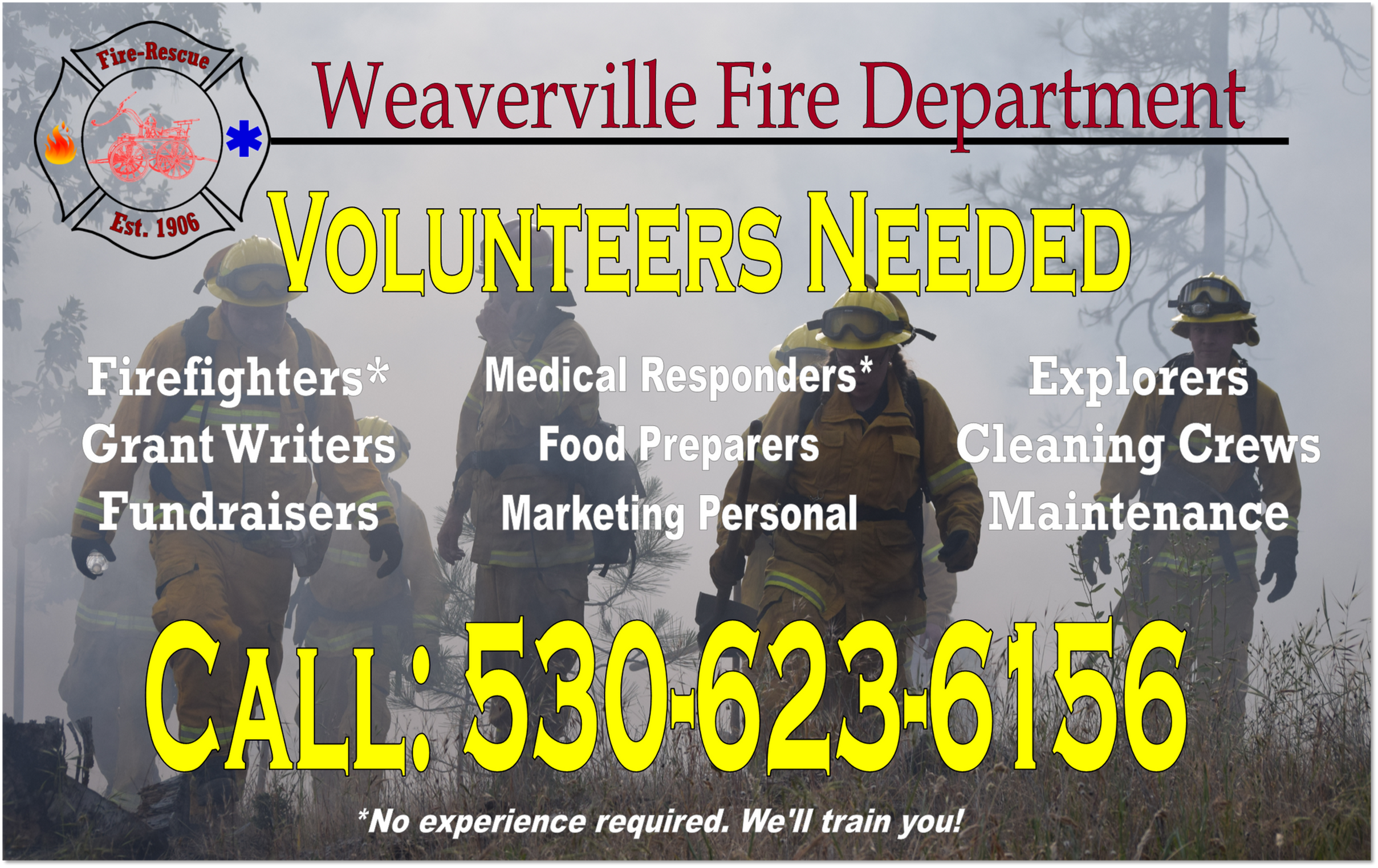 Weaverville Fire Department   California   United States