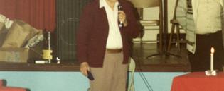 1981 Dept Annual Awards Party13 Pete Van