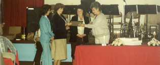 1981 Dept Annual Awards Party25 Sirens L