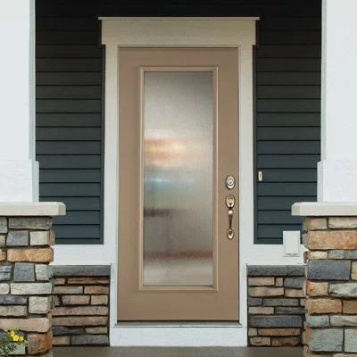 Streamed Door Glass