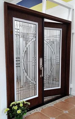 Palermo Door Glass