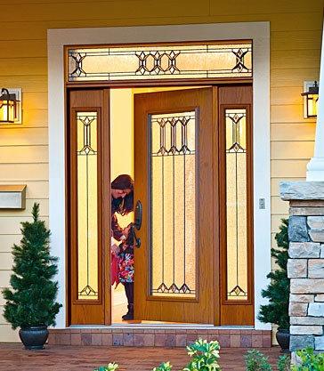 Sylvan Park Door Glass