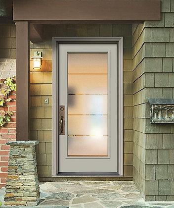 Crosslines Door Glass