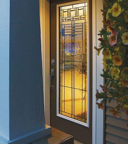 Oak Park Door Glass
