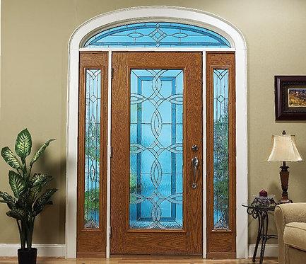 Aurora Door Glass