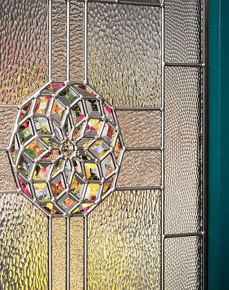 Marquise Door Glass