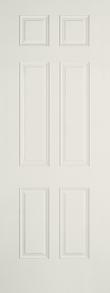 Single Fiberglass Door