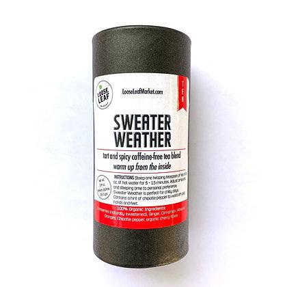 Sweater Weather Organic Holiday Tea Blend