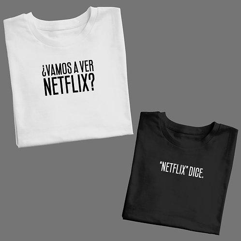 """Polos para Pareja: ¿Netflix? - """"Netflix"""" dice"""