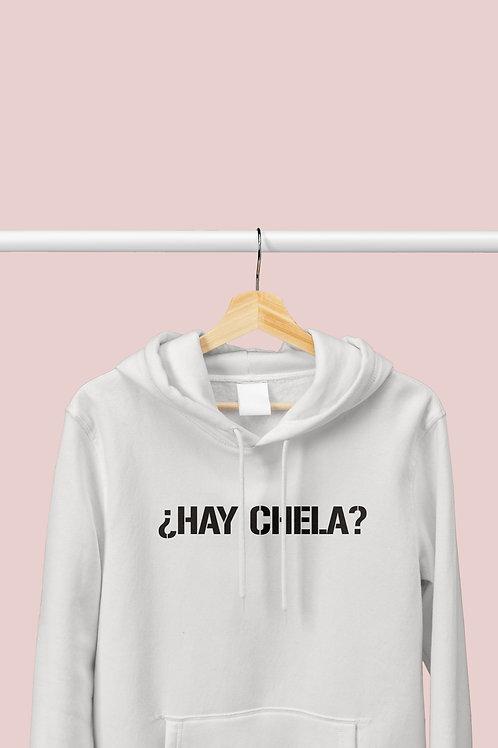 "Polera ""¿Hay Chela?"""
