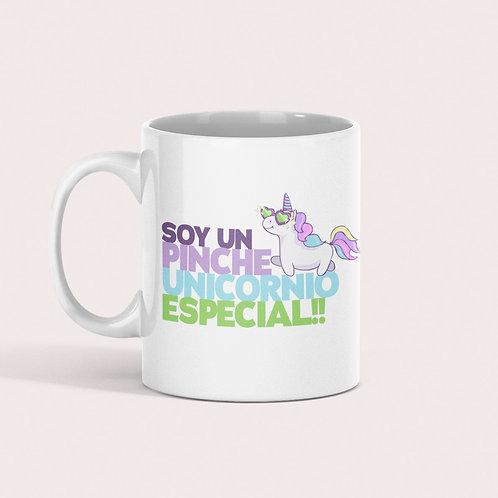 Taza Soy un pinche unicornio especial