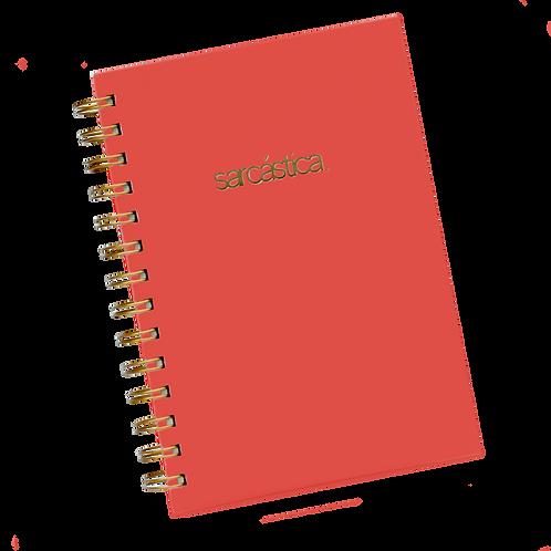 Libreta de Apuntes Rojo Escarlata