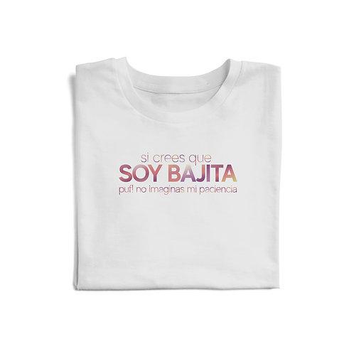 "Polo ""Bajita como mi paciencia"""