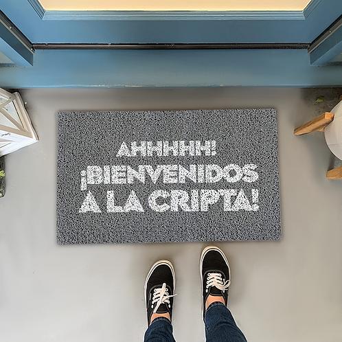 Felpudo Ahhhhh Bienvenidos a la Cripta!
