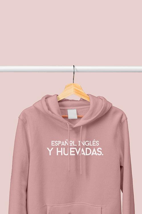 """Polera """"Español, inglés y huevadas"""""""