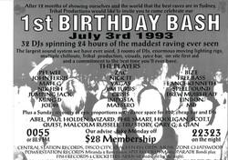 Tribal - First Birthday Bash