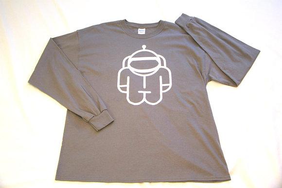 T-Shirt Grey long sleeve