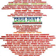 Crisis Point 3