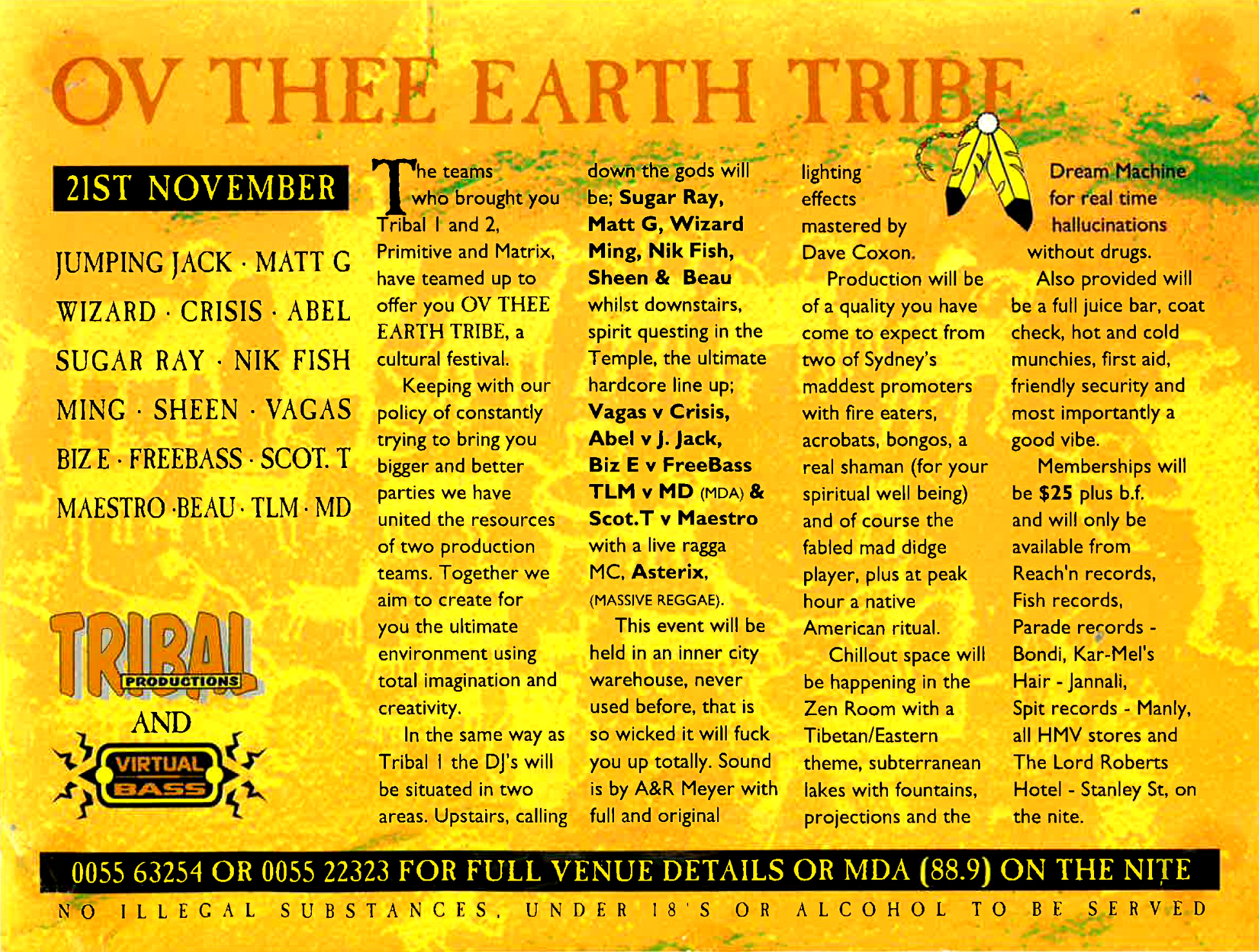 Ov Thee Earth Tribe - Back