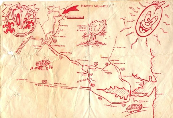 Happy Valley - Map