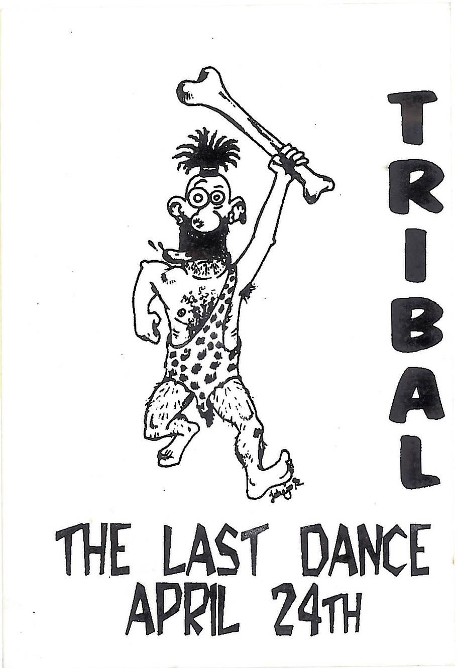 Tribal - The Last Dance Sticker