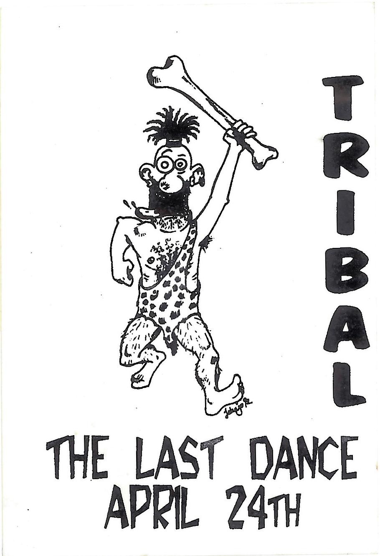 Tribal - The Last Dance Sticker