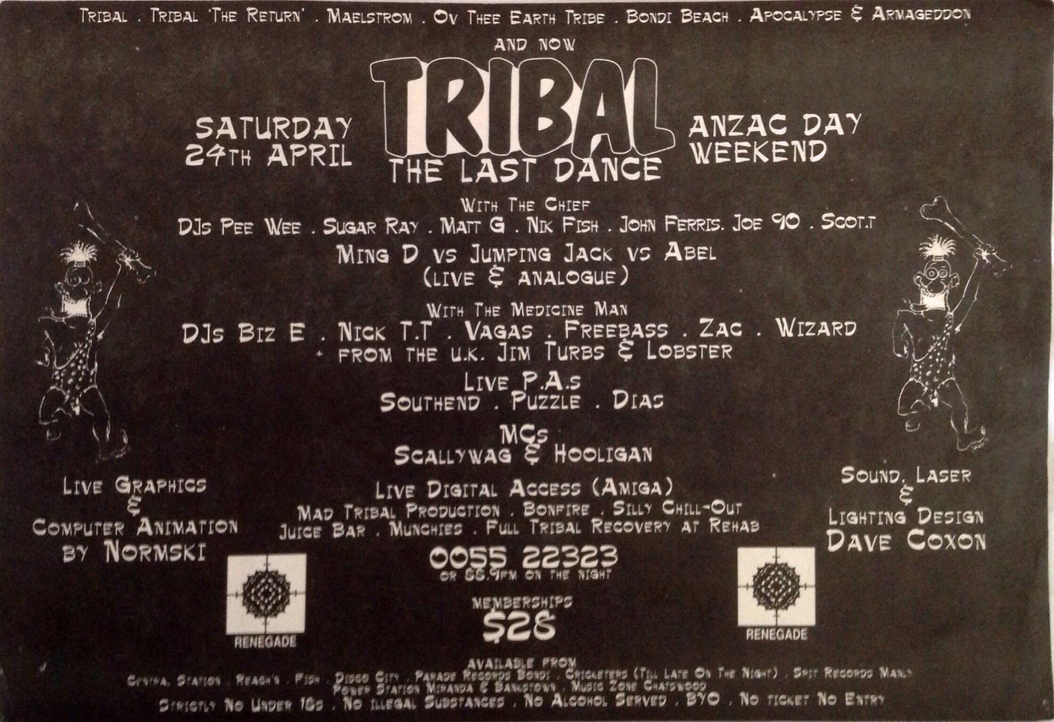 Tribal - The Last Dance
