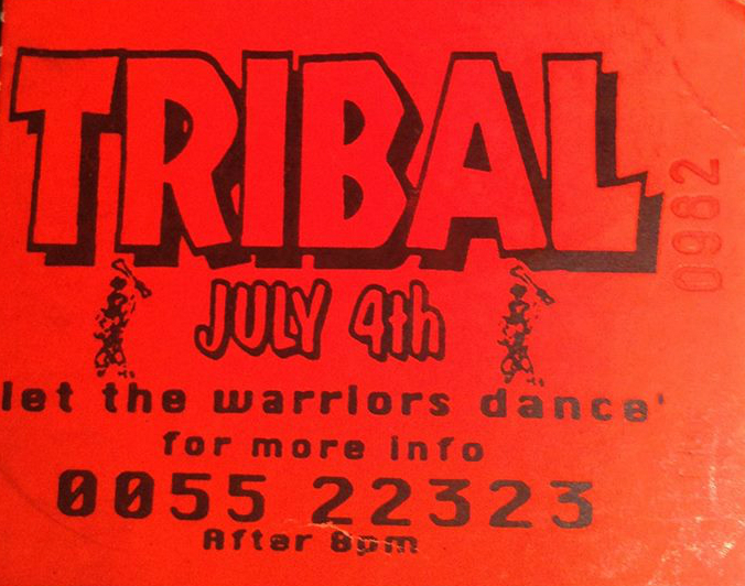19920704 Tribal Ticket