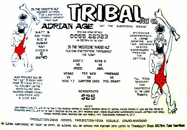 Tribal Flyer