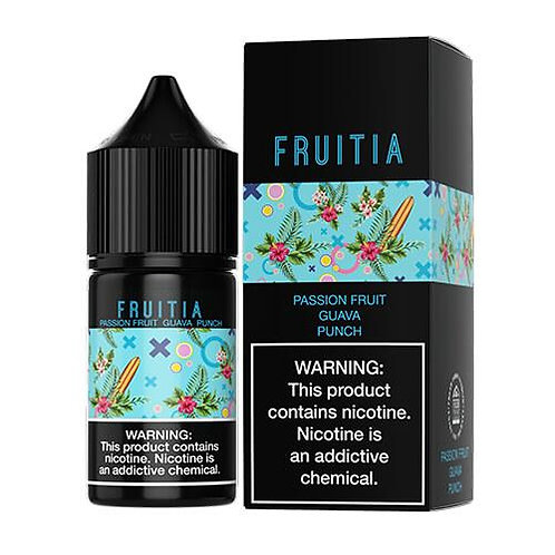 FRUITIA SALTS - PASSION FRUIT GUAVA PUNCH
