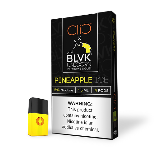 CLIC POD BLVK PINEAPPLE ICE