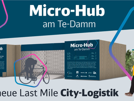 Zehntes Micro Hub in Berlin am Start