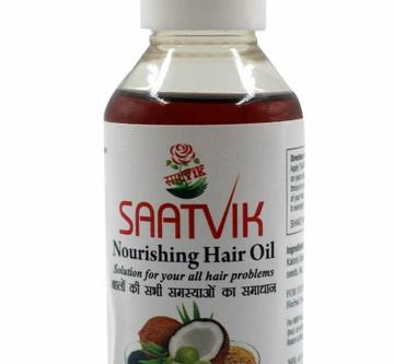 """""""SAATVIK Nourishing Hair Oil"""" (100% natural)"""