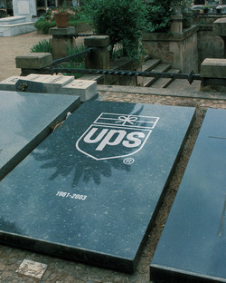 UPS 'Bow-Tied Package' Shield