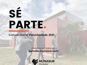 Convocatoria Voluntariado 2021