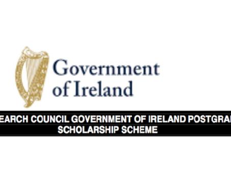 Government of Ireland Postgraduate Scholarship Programme