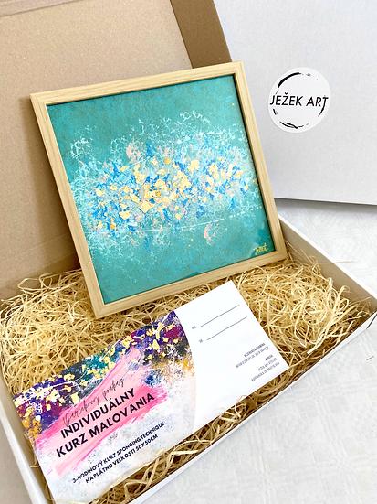 Gift box: Obraz + poukážka na kurz