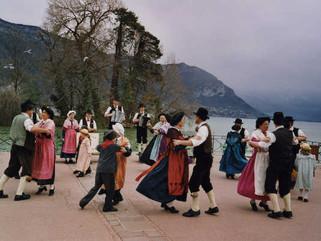 Traditionnelle fête du 15 août à Bessans en Haute  Maurienne.