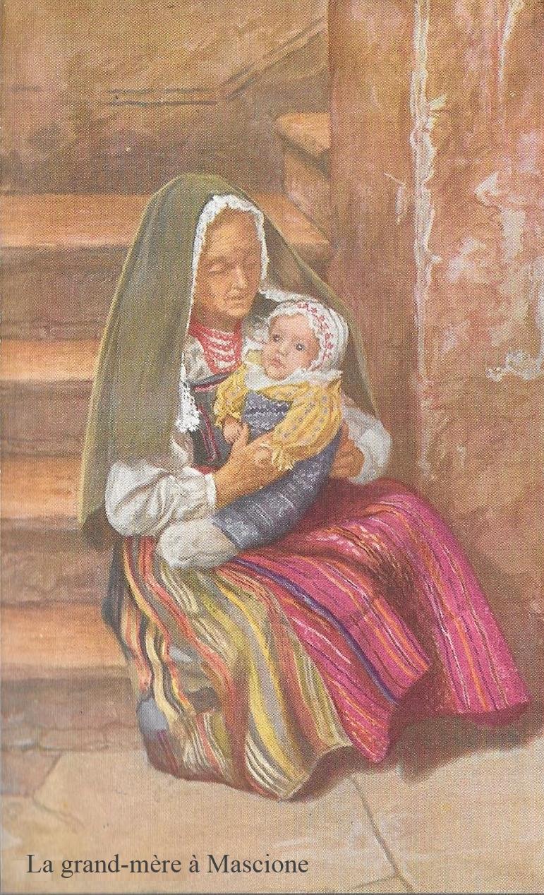 3 La grand-mère à Mascione