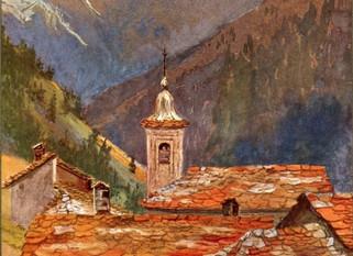 Extrait N° 3 du livre Savoie Mystères et Splendeurs  -   La légende des vouivres en Maurienne.