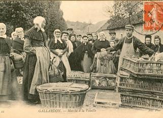 Extrait N° 5 - A Saint-Jean-de-Maurienne, il y a un petit marché.....