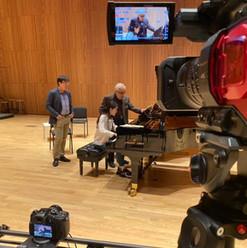 Recording Gary Graffman