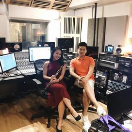 Recording Oboist Hsuan Fong Chen
