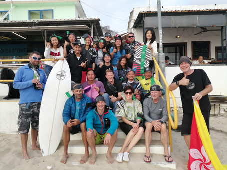 2020 Enduro Fundraising Challenge Post-Event Report 第一屆風箏衝浪保育海洋毅力挑戰報告