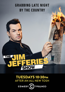 The Jim Jefferies show comedy Central
