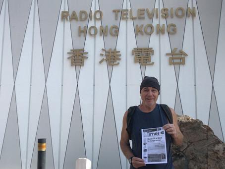 We are on RTHK Radio 3!