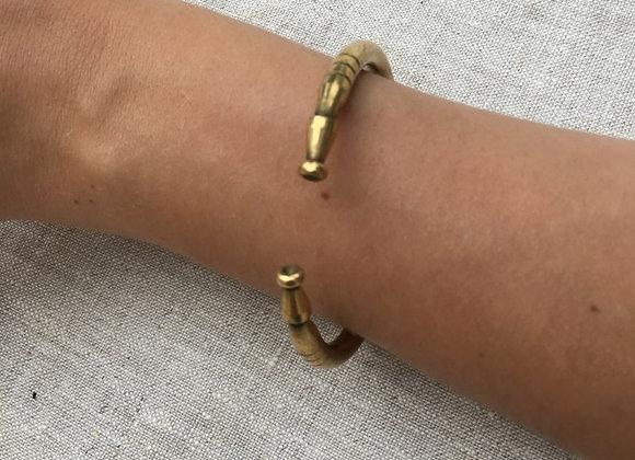 Bracelet Jonc en cuivre Bénarès