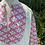 Thumbnail: Tunique rose et vert tendre