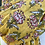 Thumbnail: Écharpe fleurie  jaune
