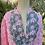Thumbnail: Tunique rose et turquoise